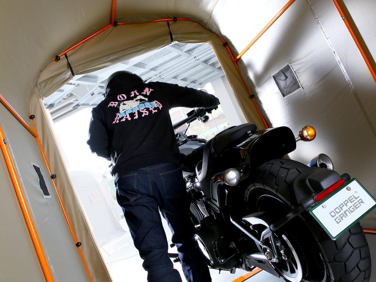 DCC538-KH バイクガレージ 2500 主な特徴