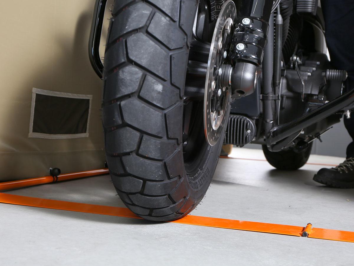 DCC538-KH バイクガレージ 2500 主な特徴の補足