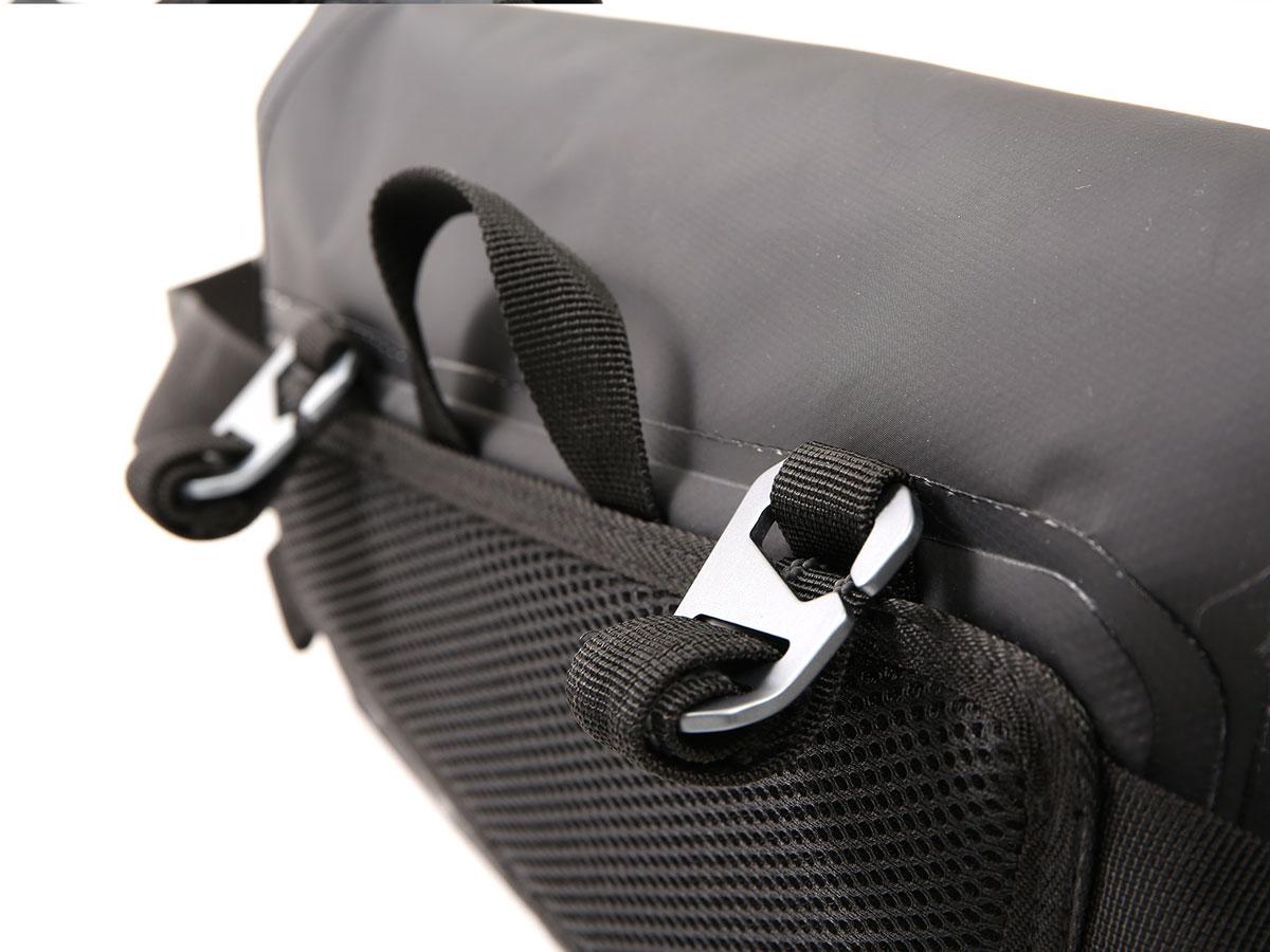 DBT509-KH ターポリンシングルサイドメッセンジャーバッグ 主な特徴の補足
