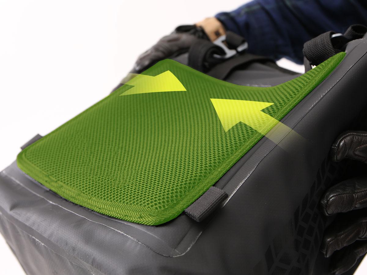 DBT510-BK ターポリンシングルサイドトートバッグ 各部特徴画像