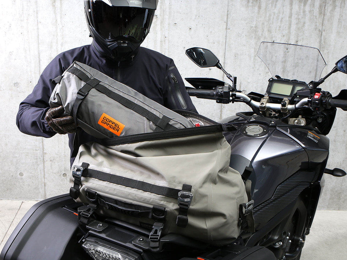 DBT531-GY バイクツーリングテント1 主な特徴