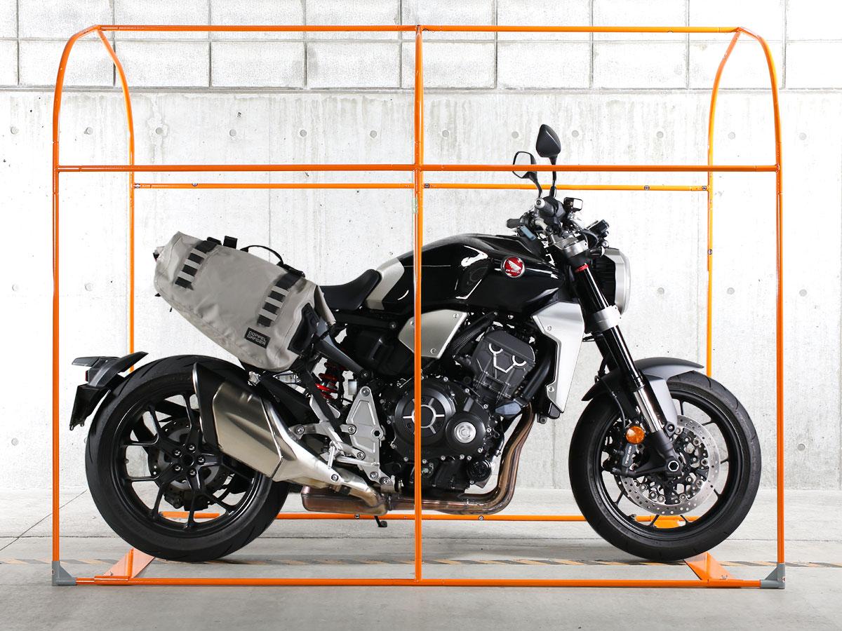 DCC539-GY バイクガレージ 2150 スリム 主な特徴の補足