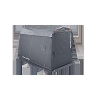 バイクガレージ2500 DCC538用 UV耐候ルーフ