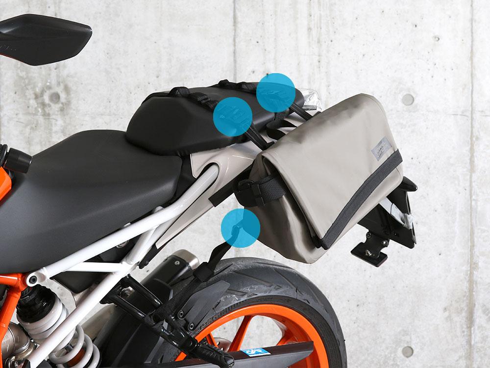 DBT509-KH ターポリンシングルサイドメッセンジャーバッグ 主な特徴