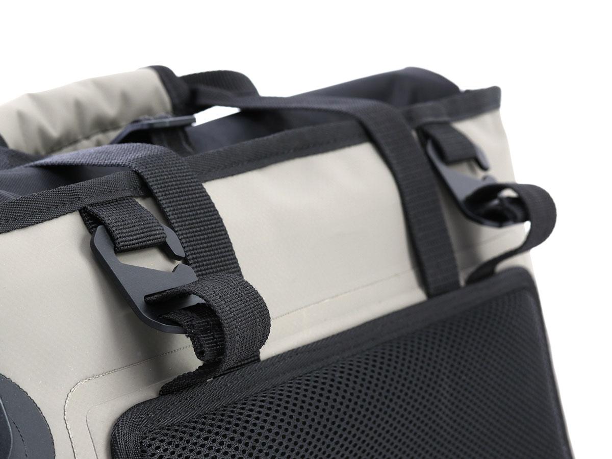 DBT510-KH ターポリンシングルサイドトートバッグ 各部特徴画像