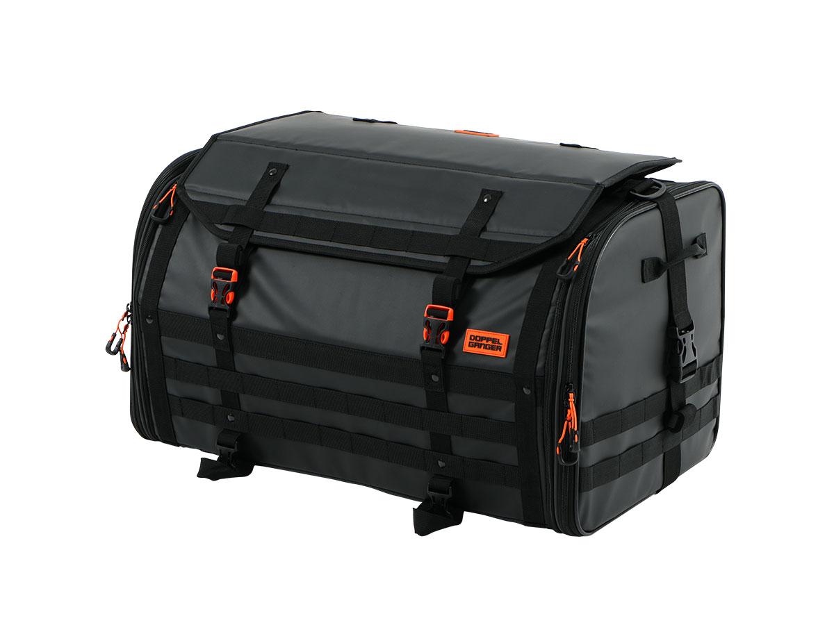 キャンプツーリングシートバッグ画像