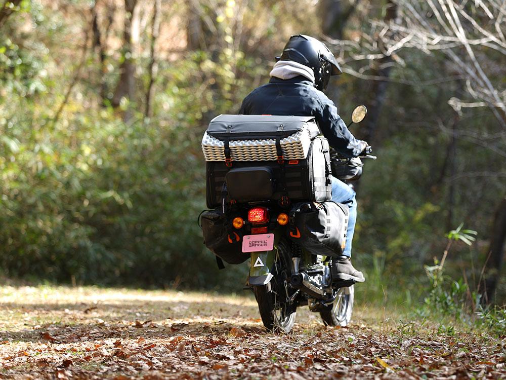 DBT523-BK キャンプツーリングシートバッグ 主な特徴
