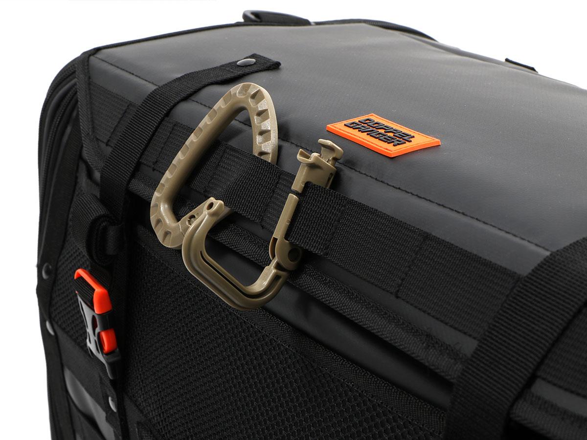 DBT523-BK キャンプツーリングシートバッグ 各部特徴画像