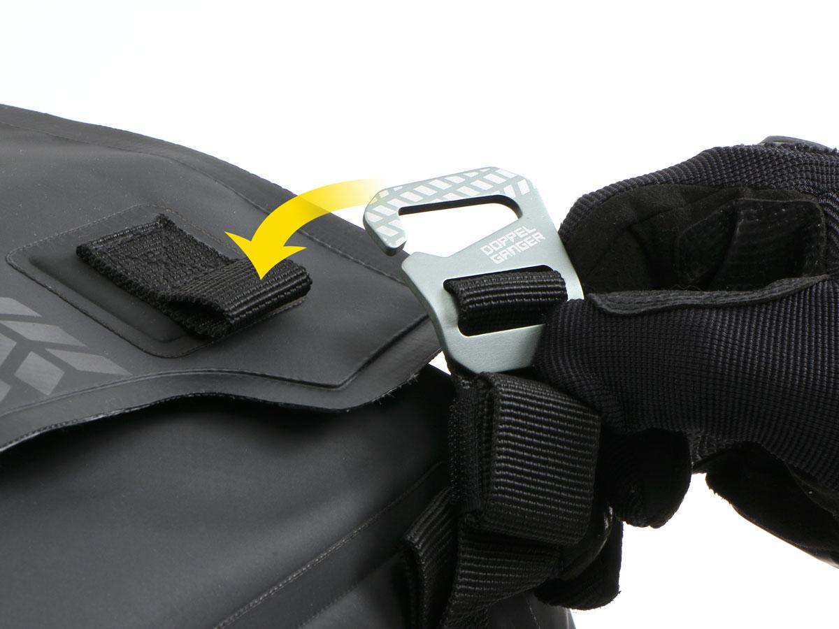 DBT575-BK ターポリンシートバッグ デイズ 主な特徴の補足