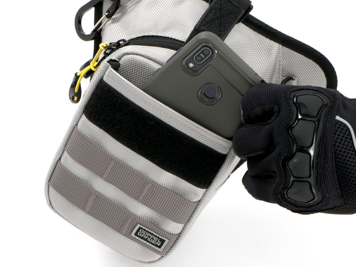 DBT568-BK ライダーズホルスターバッグ 2 各部特徴画像