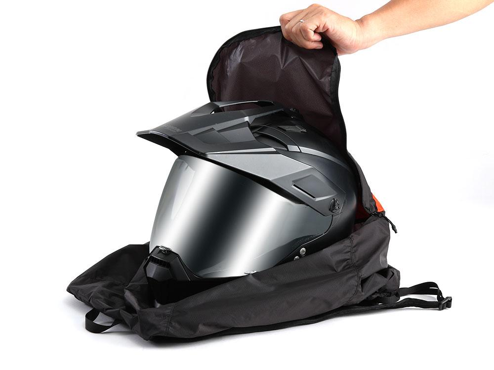 DBT597-BK ULヘルメットインエコリュック 主な特徴