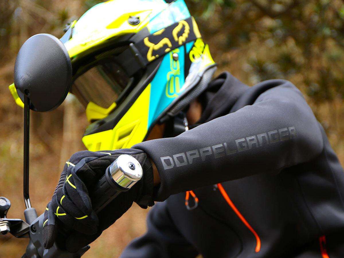 DMA604XL-BK ライダースインナージャケット 各部特徴画像