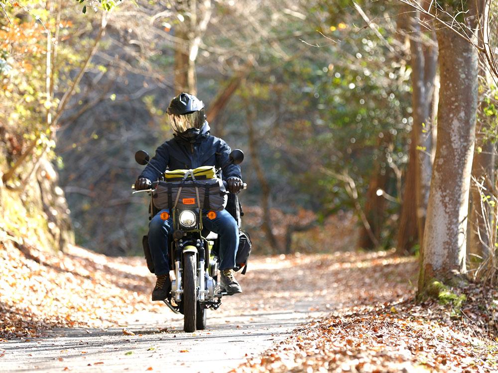 DBT571-GY バイクツーリングコットテント 主な特徴