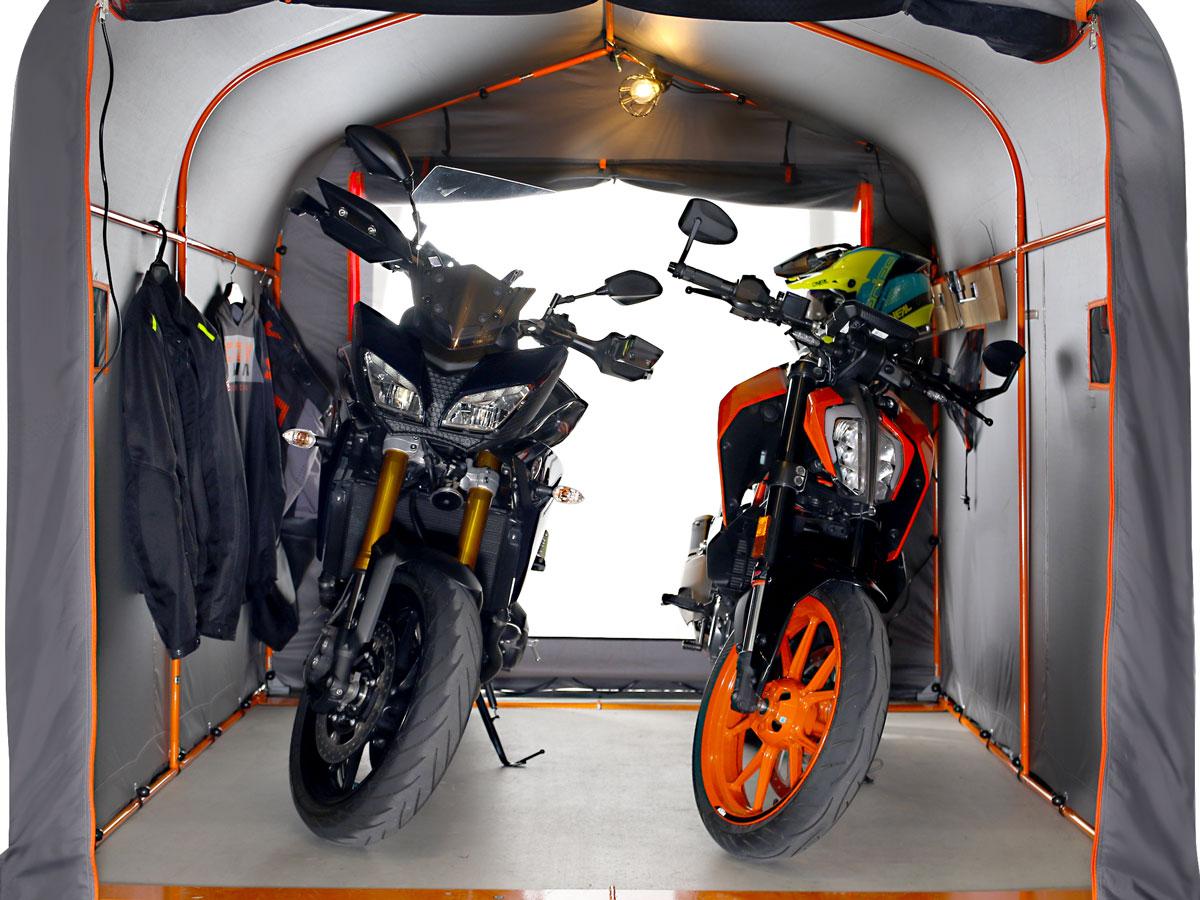 DCC538W-GY バイクガレージ 2500 ワイド 主な特徴