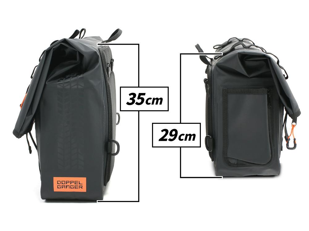 DBT607-BK ターポリンサドルバッグ WPS 主な特徴の補足