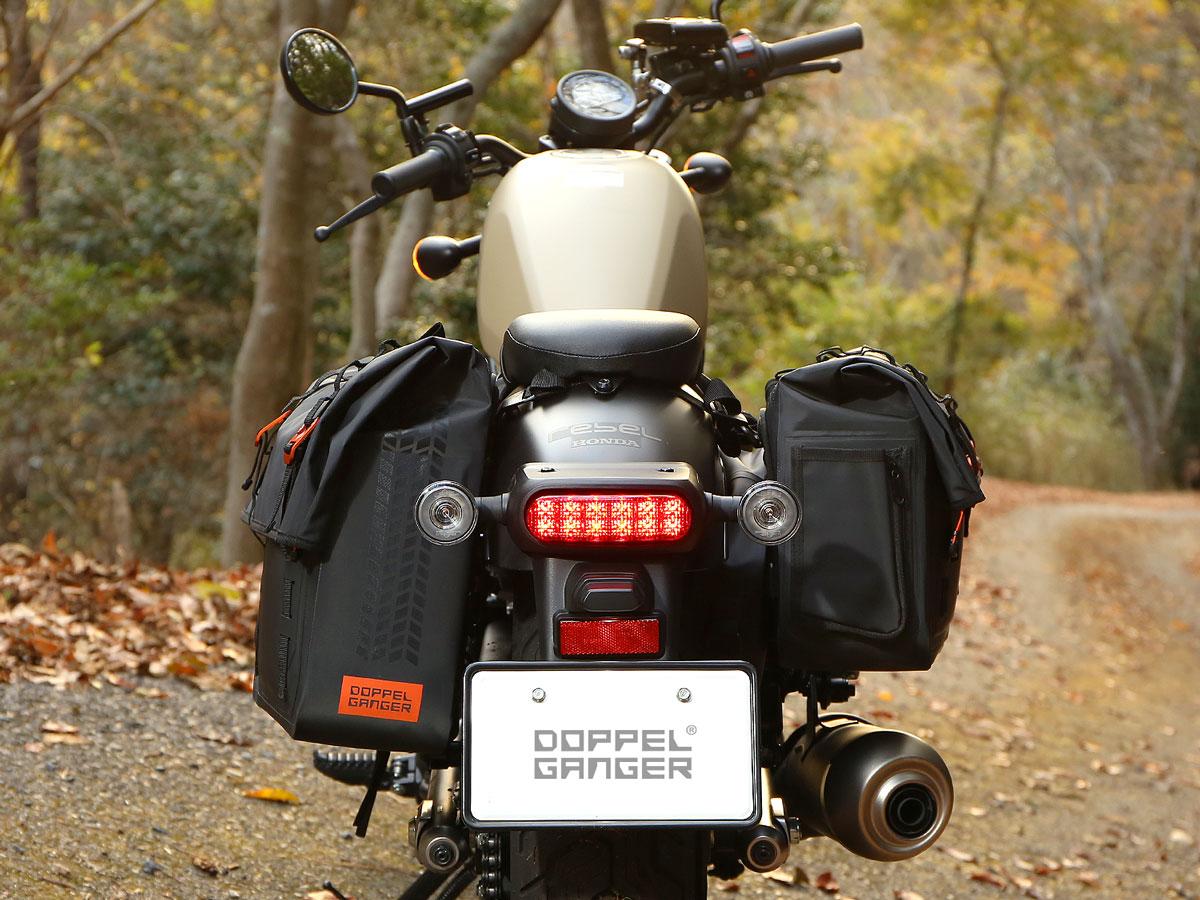 DBT607-BK ターポリンサドルバッグ WPS 主な特徴