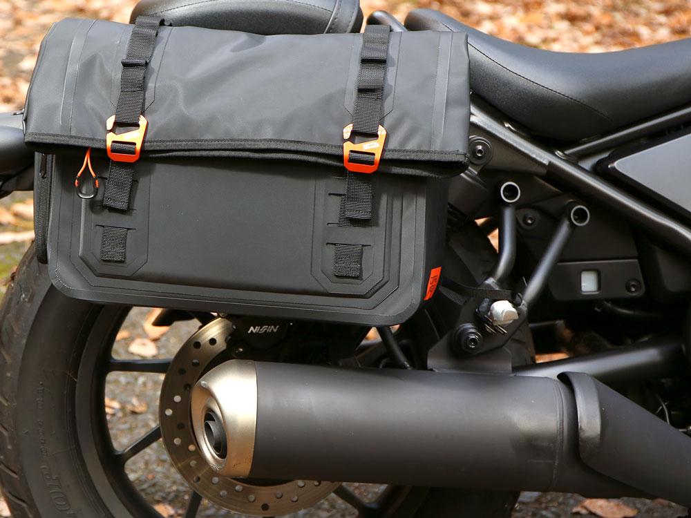 DBT606-BK ターポリンサドルバッグ WP 主な特徴の補足