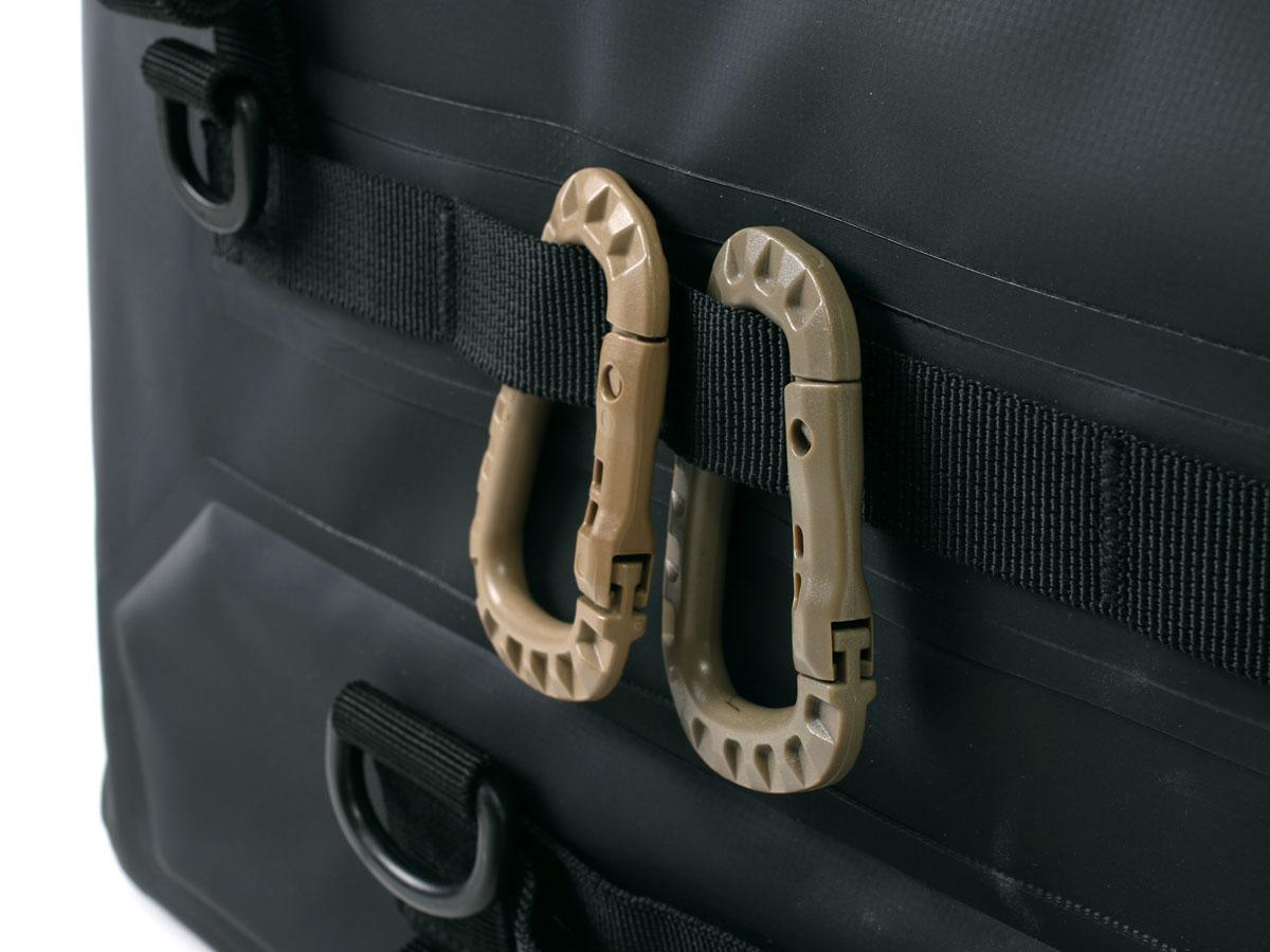 DBT611-BK ターポリンシートバッグ ツアー 各部特徴画像
