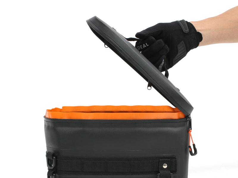 DBT614-BK TPU ボックス シートバッグ 主な特徴の補足