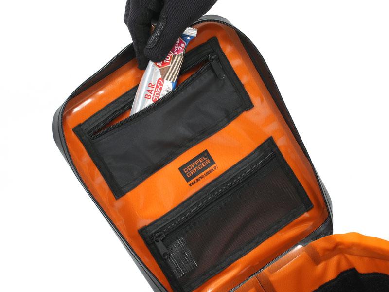 DBT614-BK TPU ボックス シートバッグ 各部特徴画像