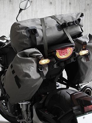 オートバイ用バッグ画像